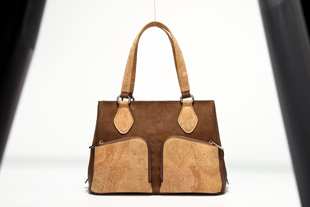 ad29f2919a Bohsiho Customized Design Fashion Cork Fabric Bag Woman handbag for Lady