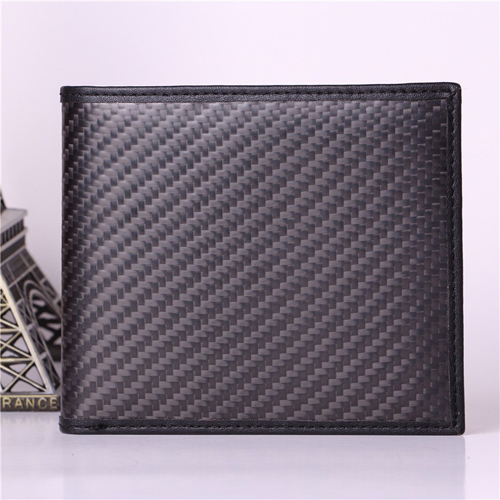 BOSHIHO genuine leather carbon fiber wallet with good quality