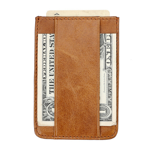 BOSHIHO Card Holder For Credit Card Holder Slim Money Clip Card Holder