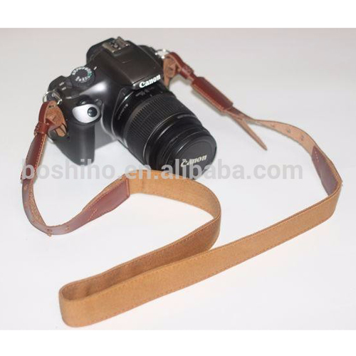 Boshiho fashion neck shoulder leather straps for camera