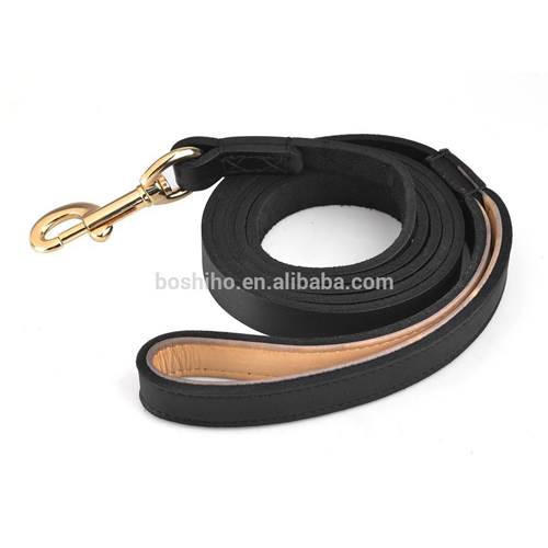 Dog Leather Leash Training Leather Leash